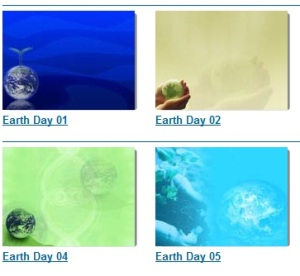 picture of Earth day templates
