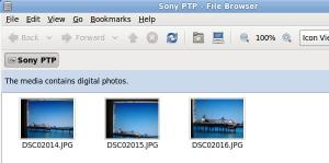 picture of digital camera icon on desktop