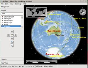 Marvell Desktop Globe