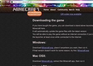 MineCraft site
