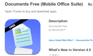 Documents Free app
