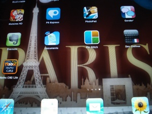 iPad paris