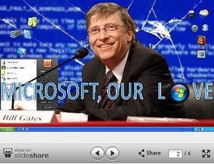 Microsoft, our love