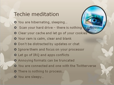 techie meditation