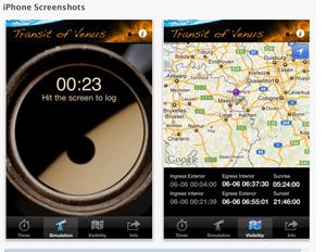 transit of venus app