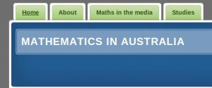 mathematics in Australia