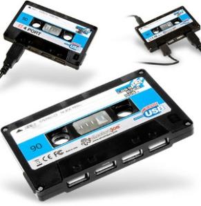 cassette  USB hub