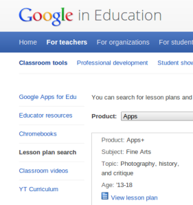 Google in education