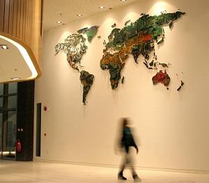 Upcyling - world map