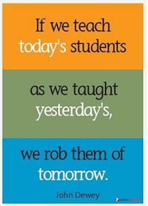 John Dewey quote