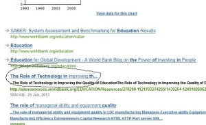 world bank education