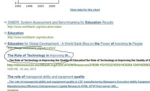 world bank education