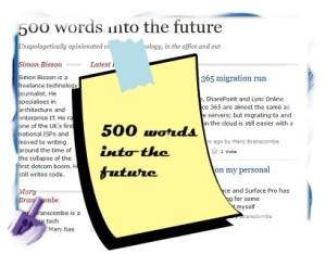 500 words into the future