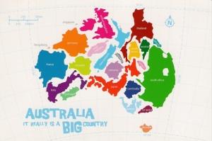 Australia is big
