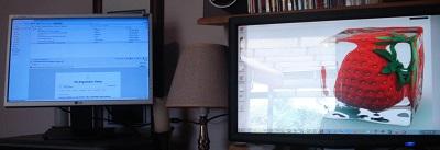 dual monitors