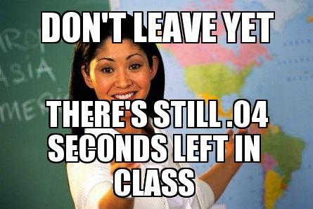 SChool teacher meme