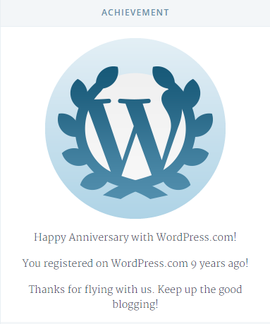 Wordpress Anniversary