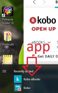 Kobo reader app
