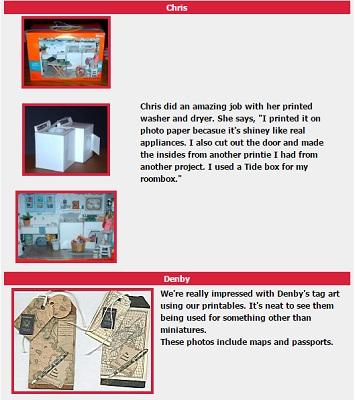 image regarding Printable Miniatures titled Printable minis E-WOT