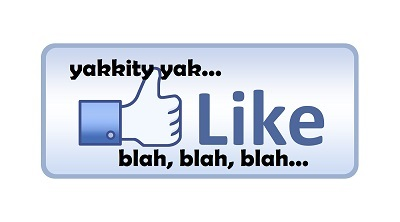 Facebook likes and comments
