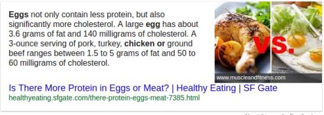 chicken vs eggs