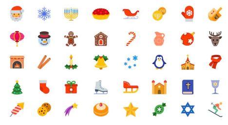 festive season icons
