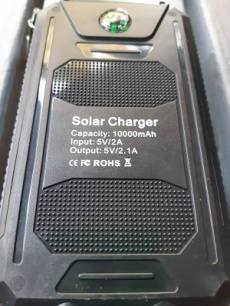 Maxxlee Solar Power Bank 1